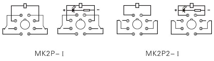 general purpose relay mk2p wiring diagram general purpose relay mk2p, mk3p, mk2pk, mk3pk general purpose relay wiring diagram at edmiracle.co